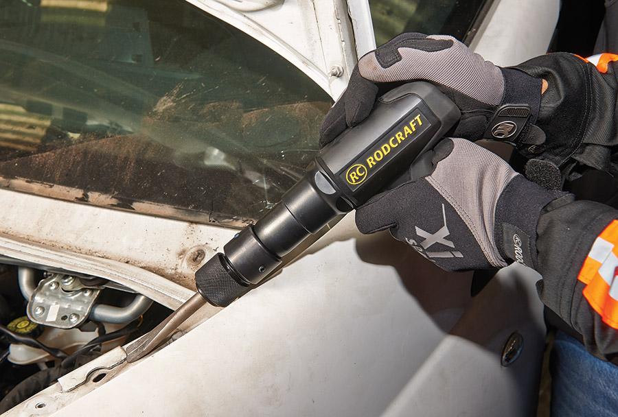 RC5185 et RC5195 : les nouveaux marteaux à faibles vibrations Rodcraft, pour un enlèvement de matière hautement efficace